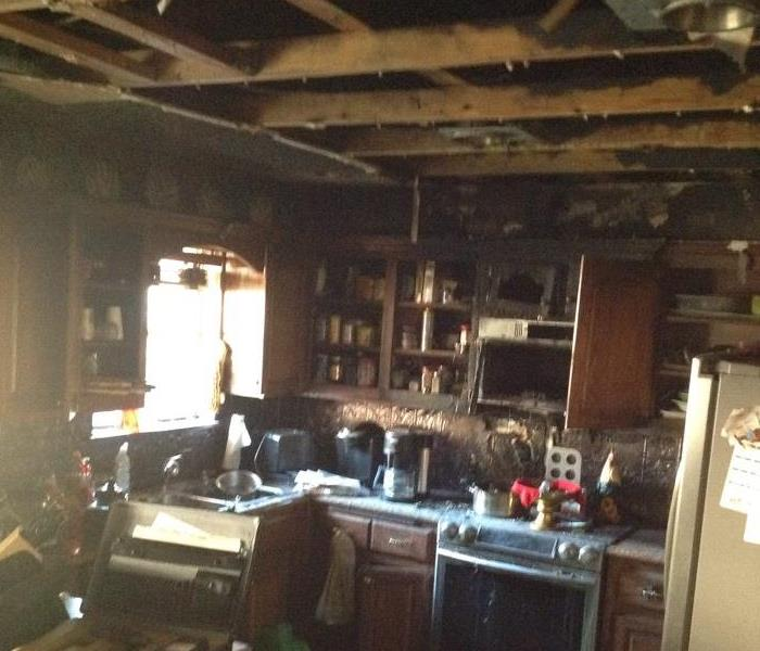 Clean up process to kitchen fire