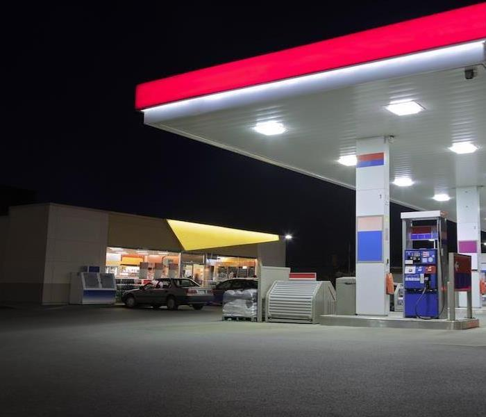 Commercial Convenience Store Needs Water Removal After Plumbing Fail in Oklahoma City